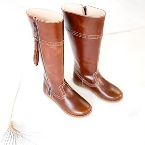 Girls 13 Elephantito Riding Boot